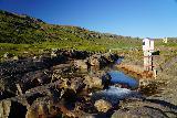 Mulafoss_065_08092021 - Looking upstream along the Fjarðará Stream towards the footbridge across it