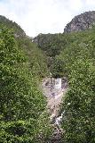 Muldalsfossen_031_07172019 - Looking back towards Muldalsfossen from the bridge over its stream