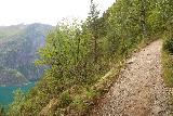 Muldalsfossen_086_07172019 - Context of the steep climbing trail and Tafjorden on the way to Muldalsfossen