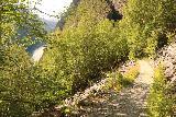 Muldalsfossen_251_07172019 - Traversing some boulder field while descending the Muldalsfossen Trail