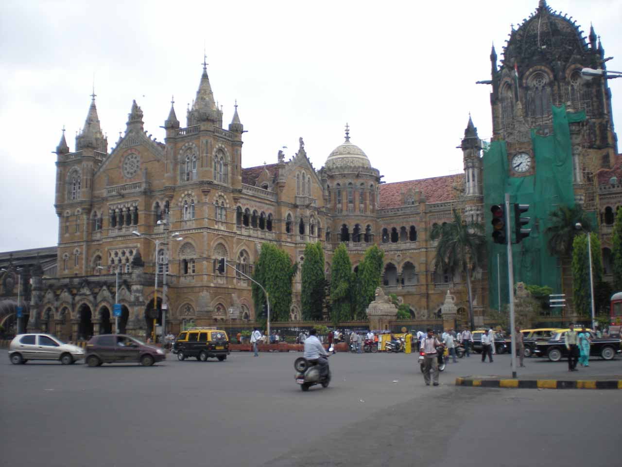 Train Station in Mumbai