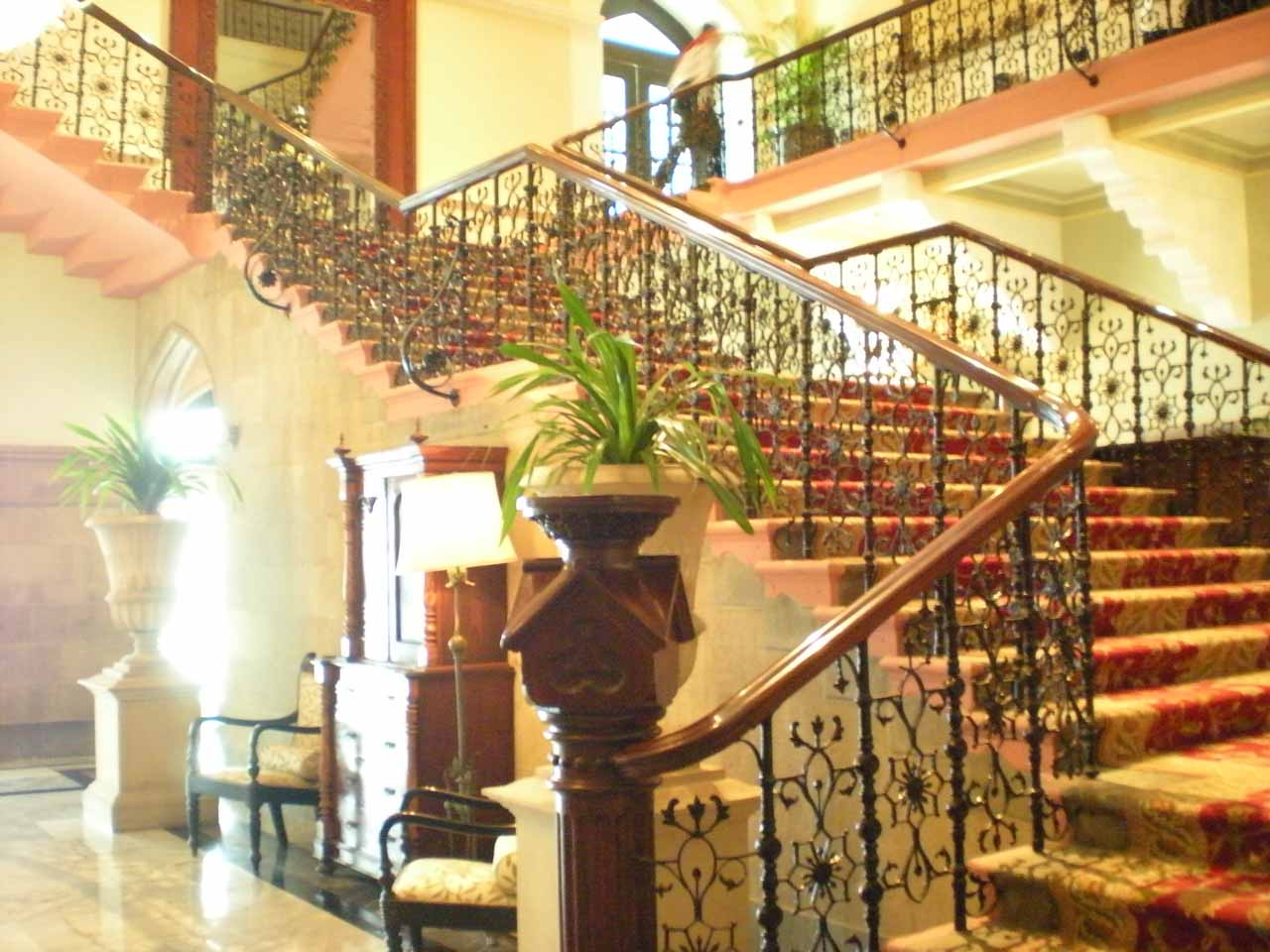 Inside the Taj Mahal Hotel