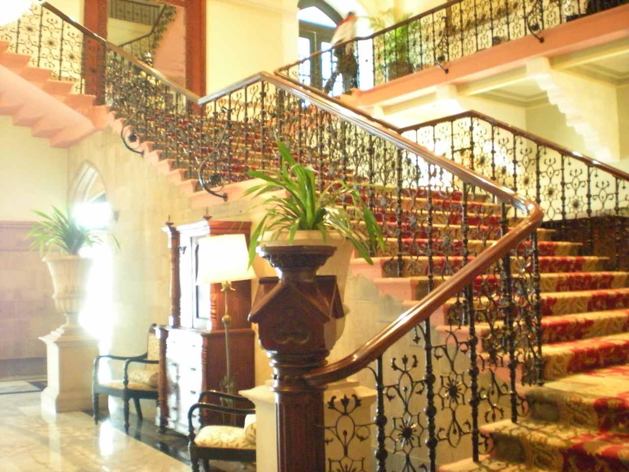 Inside the Taj Mahal Hotel