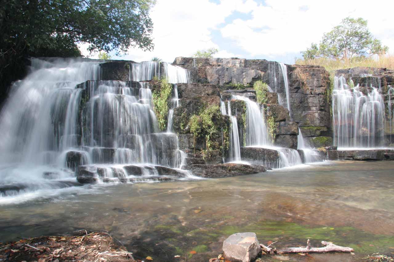 The upper Mumbuluma Falls