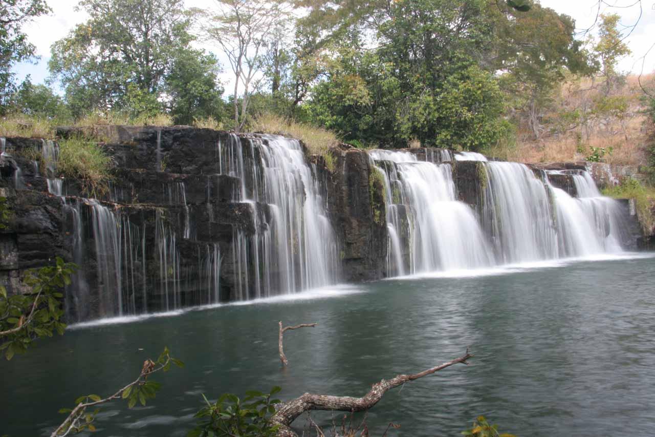 The lower Mumbuluma Falls