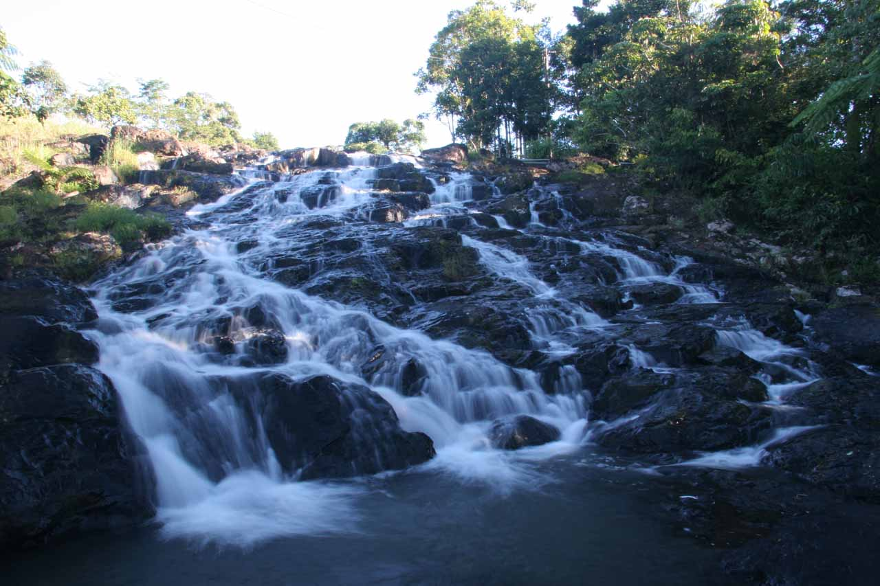 This was the Mungalli Cascade near the Student Village and Wilderness Retreat