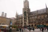 Munich_020_06282018 - Another look at the Marienplatz as service vehicles were still parked in the typically vehicle-free zone