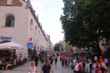 Munich_562_06302018 - Back at the really busy Neuhausstrasse between the St Michael's Church and the Marienplatz in Munich