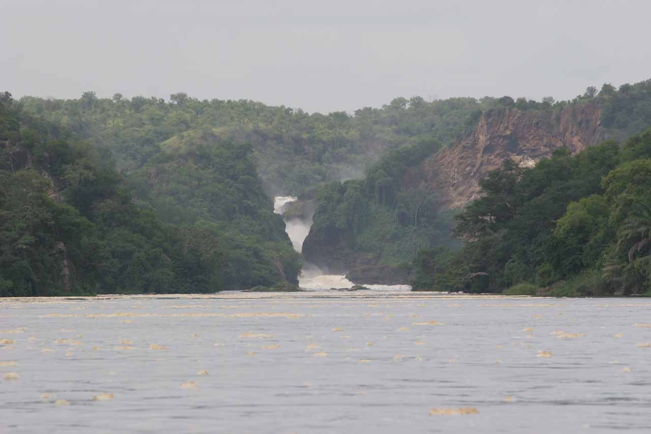 Approaching Murchison Falls