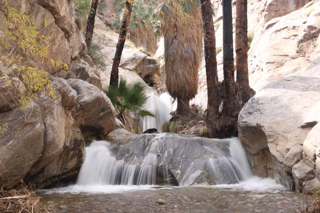 Contextual landscape view of the main Murray Canyon Falls