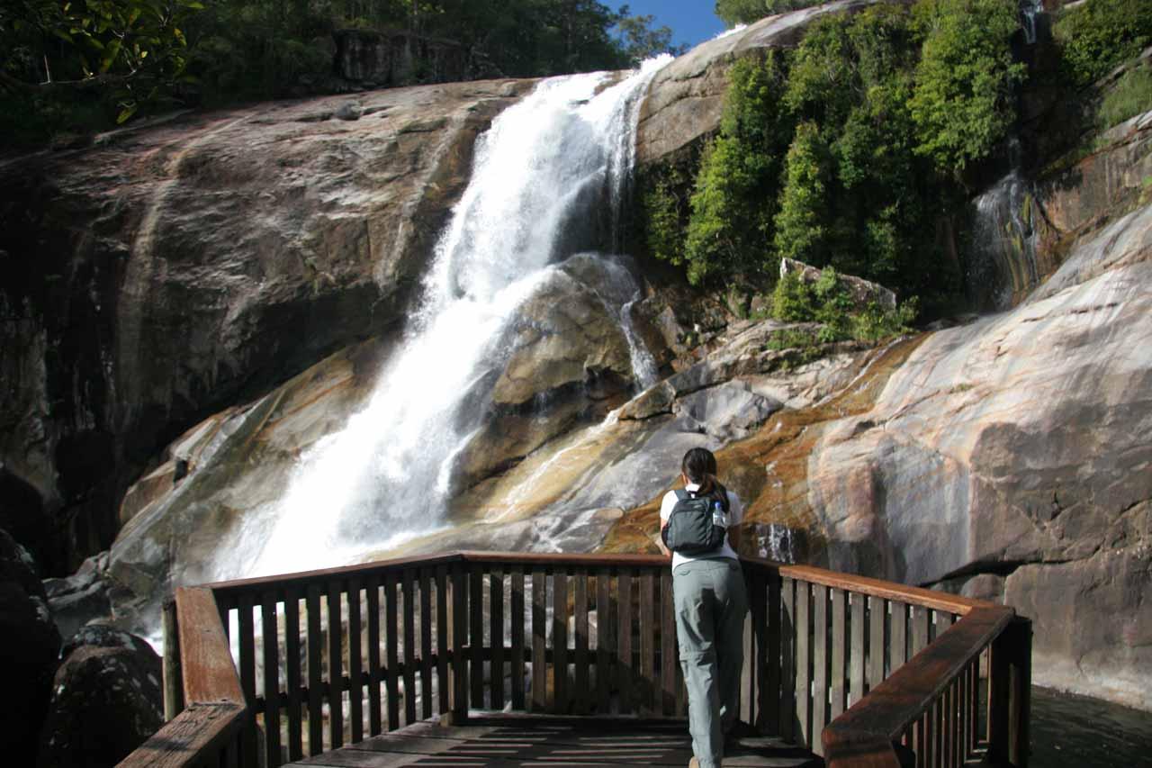 Murray Falls viewing platform