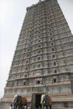 Murudeshwar_062_11152009 - Looking up at the impressive temple