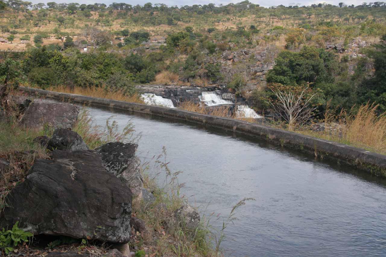 Partial view of Musonda Falls