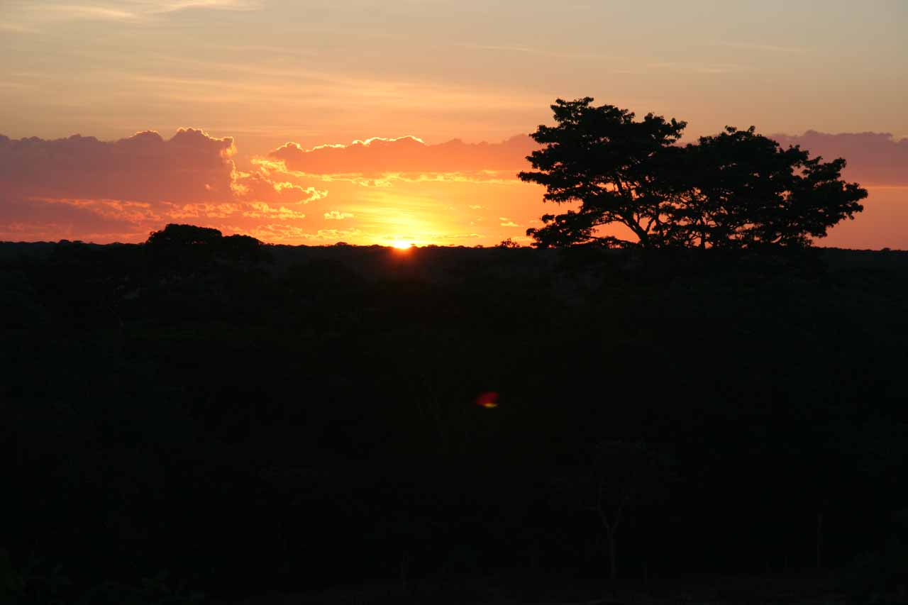 The Mutinondo Sunset