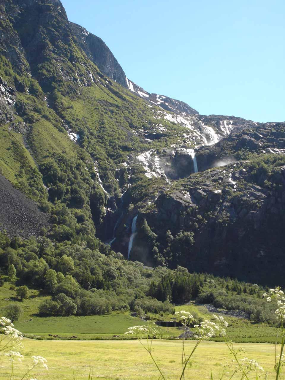 Fully contextual look at Strupenfossen