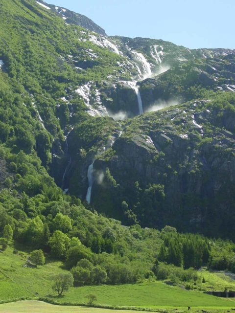 Myklebust_013_06302005 - Strupenfossen when we first saw it on our first Norway trip in 2005