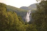 Myklebust_064_07192019 - View of Sanddalsfossen from near the trailhead for it