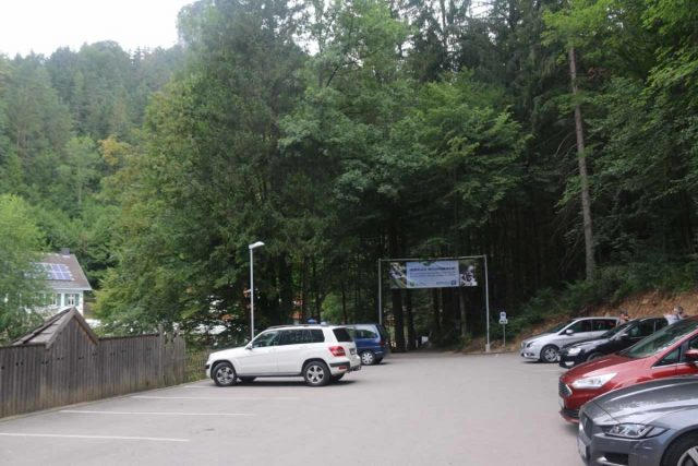 Myrafalle_003_07092018 - The closest car park to the Myrafälle