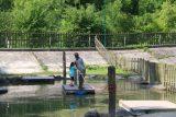 Myrafalle_241_07102018 - Julie and Tahia having fun with the raft in the Myrafaelle playground