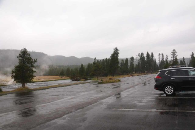 Mystic_Falls_17_002_08142017 - The Biscuit Basin Parking Lot, which was where we started the hike to Mystic Falls