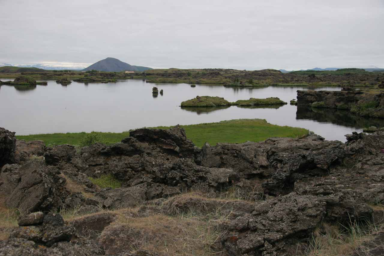 The southern shore of Mývatn