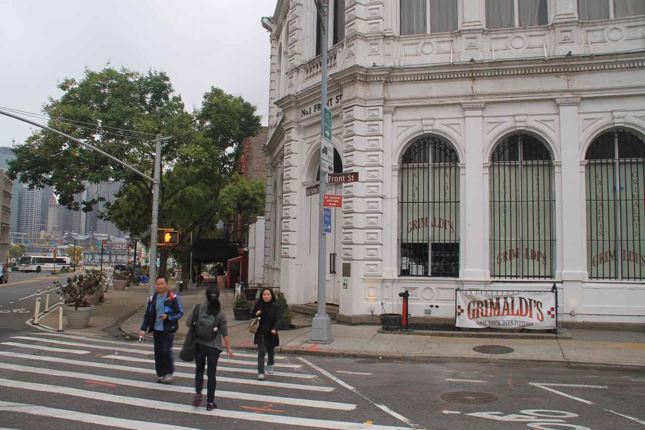 The new location of Grimaldi's