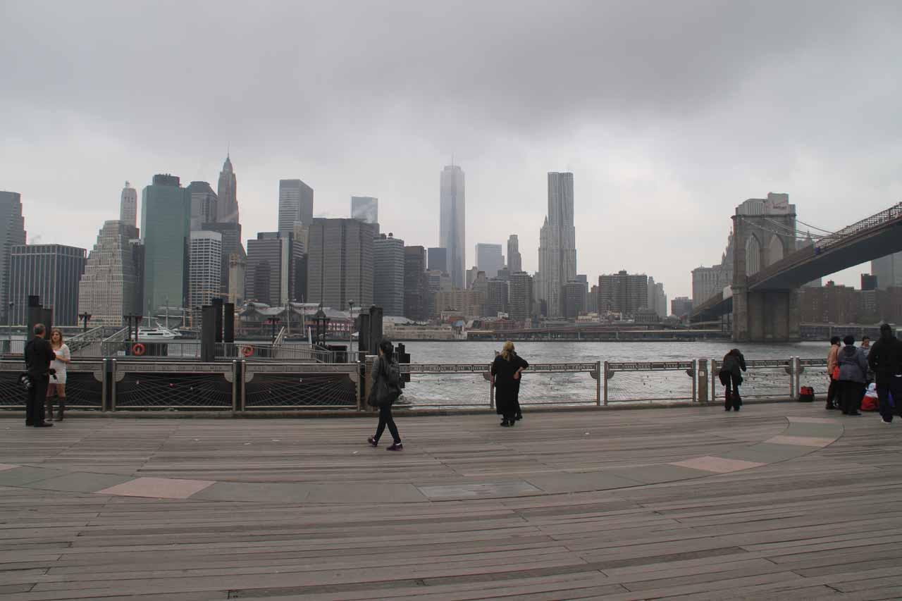 New York Skyline seen from across the Hudson
