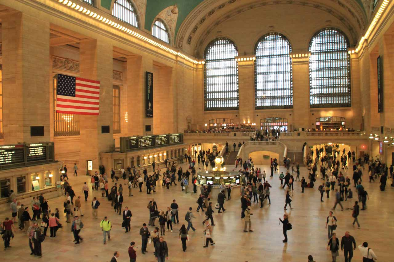 Given the efficiency of the NYC Subway, we entertained taking mass transit to Paterson, NJ. If we were in Grand Central Station, we'd have to connect in Penn Station then Secaucus Station in NJ