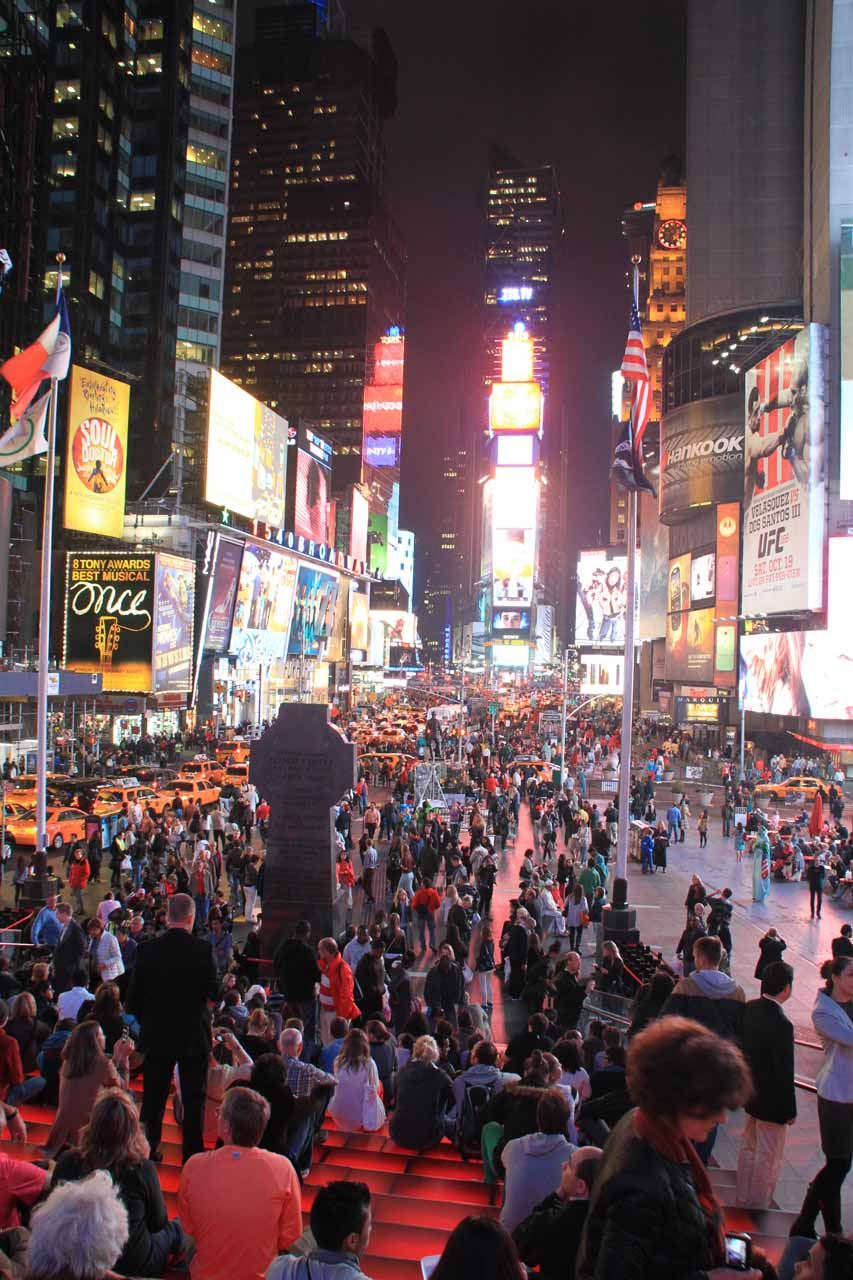 The New York Times Square