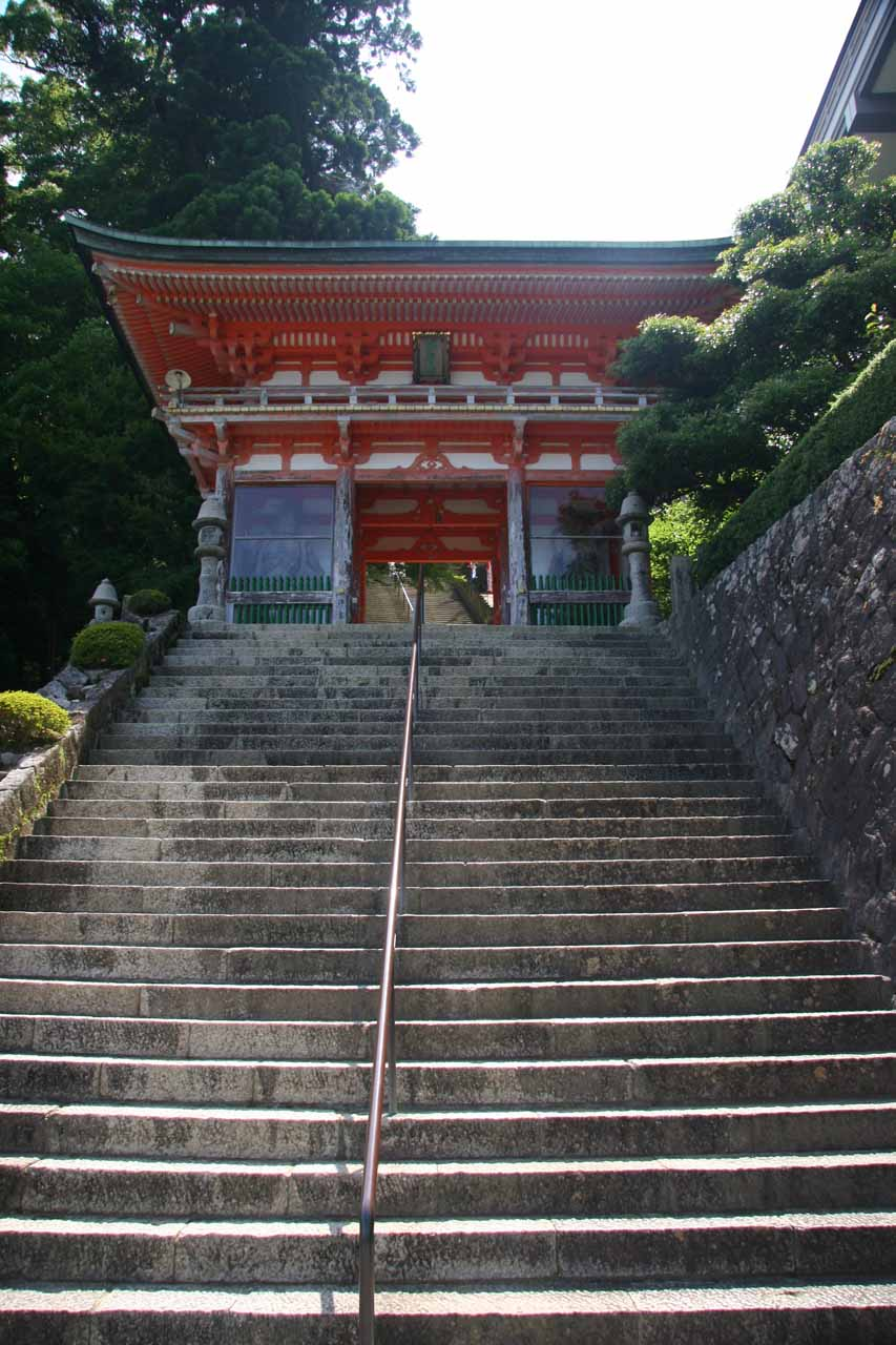 Almost at the Seiganto-ji Temple