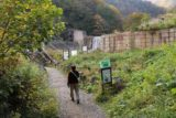 Naena_Falls_009_10182016 - Mom starting on the popular walk to the Naena Waterfall