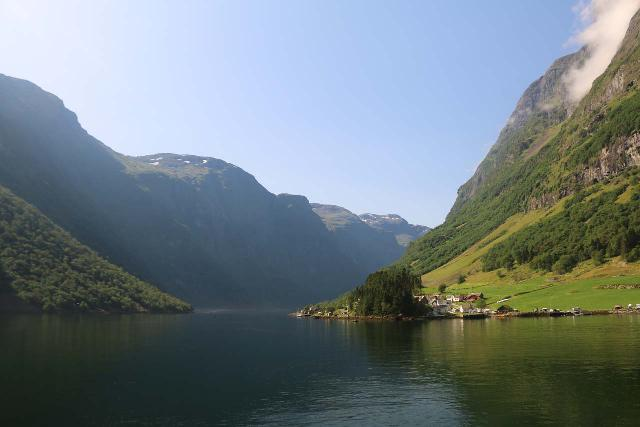 Naeroyfjoren_Cruise_437_07242019 - Between Gudvangen and Flåm, we did a cruise that sailed through both Aurlandsfjord and the UNESCO Nærøyfjord