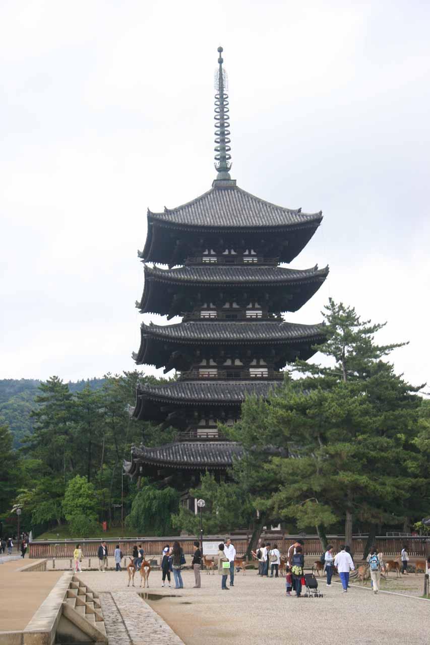 The 5-story pagoda