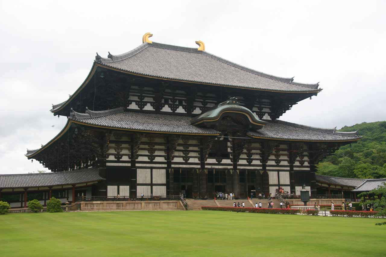 The Todai-ji itself