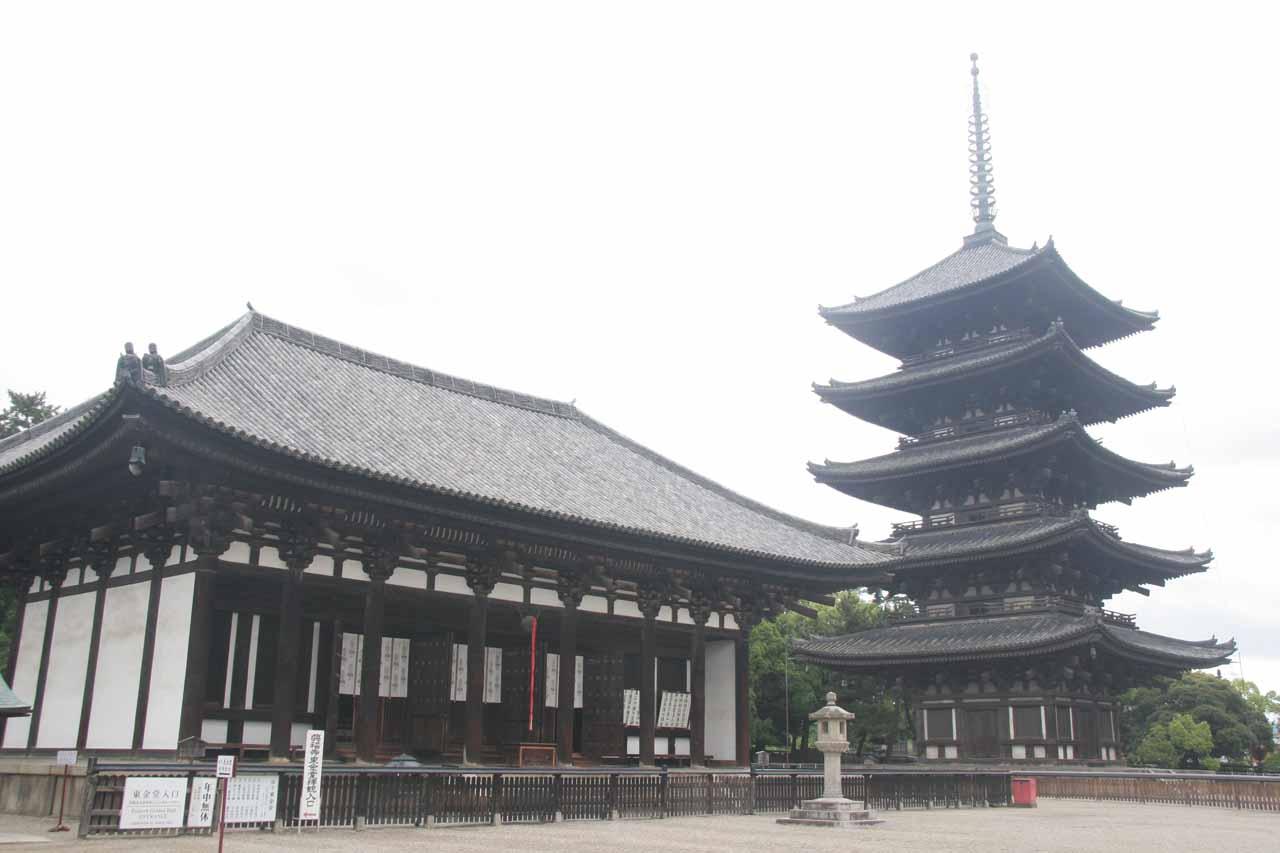 Building and 5-story Pagoda in Nara