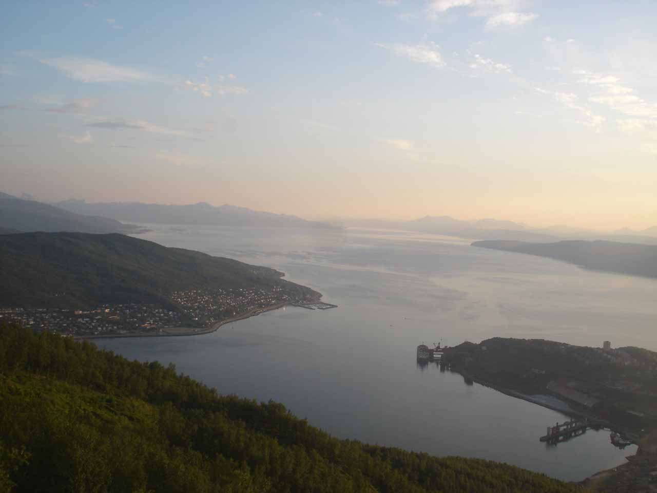 View over Narvik
