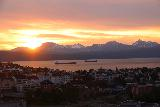 Narvik_085_07072019 - Finally witnessing the midnight sun over the city of Narvik from the rooftop cafe at the Scandic Narvik
