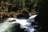 Natural_Bridge_rogue_026_07152016 - Looking downstream at this attractive cave over the brink of a cascade on the Rogue River
