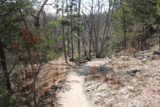 Natural_Falls_SP_026_03172016 - Initially, the descent to the base of the Natural Falls and Dripping Springs was pretty gentle along this trail