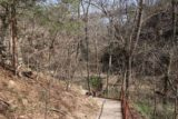 Natural_Falls_SP_033_03172016 - The descending trail to the bottom of the Natural Falls and Dripping Springs as it approached some bridges