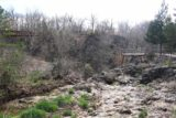 Natural_Falls_SP_088_03172016 - Another look back towards the context of the overhanging lookout and the long bridge both overlooking Natural Falls and Dripping Springs from a bridge over where the Natural Falls would have flowed