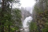 Naustafossen_066_07152019 - Another look at Nauståfossen from the footbridge as the weather was once again deteriorating