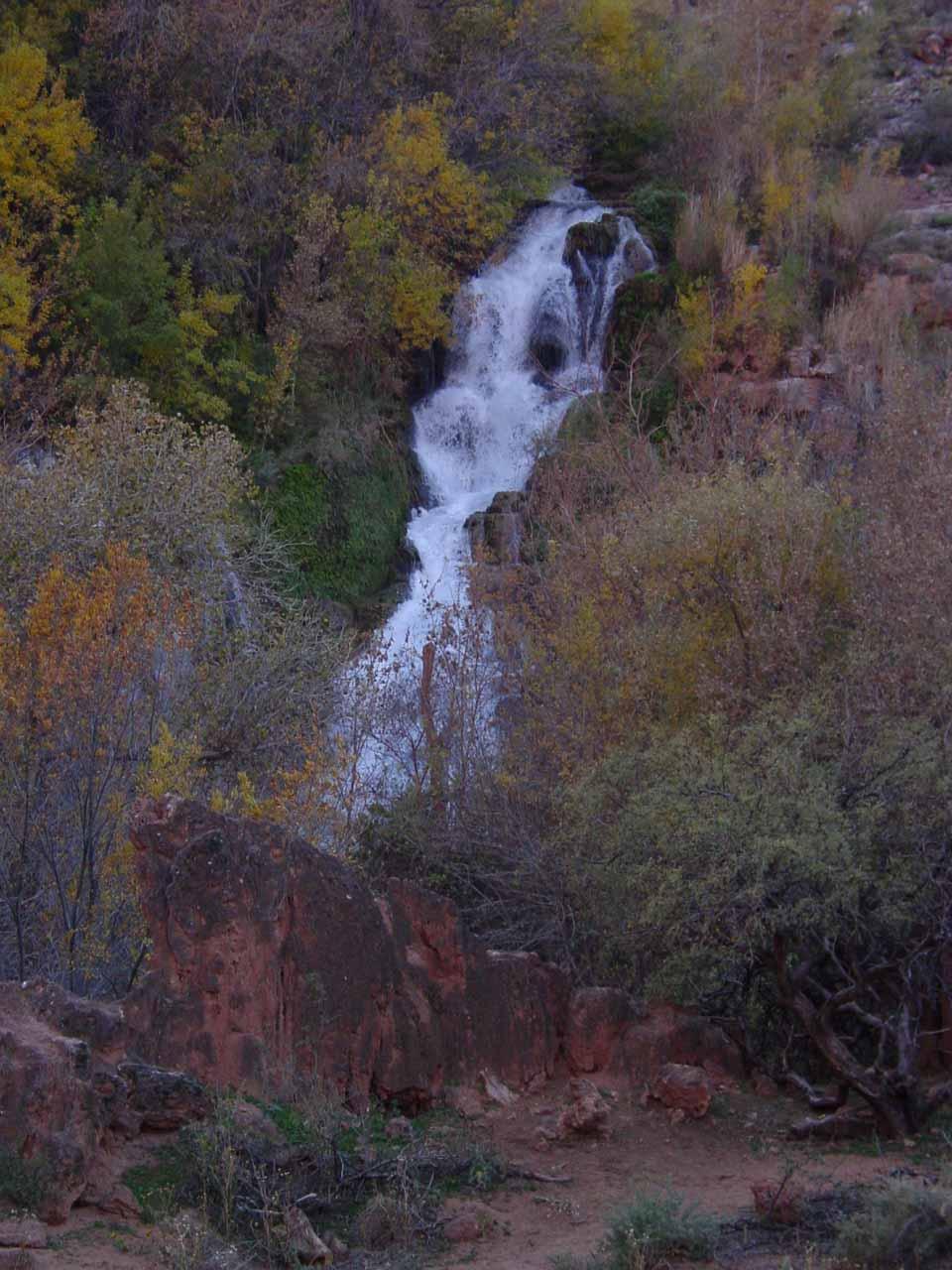Early morning look at Navajo Falls