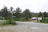 Navitfossen_003_07052019 - Looking across the access road towards the Navitfoss Camping from the clearing that we parked at