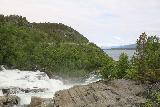 Navitfossen_011_07052019 - Context of the top of the Navitfossen Waterfall with Navuotna in the distance