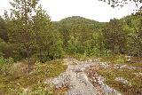 Navitfossen_125_07052019 - Going back across the short granite mounds as I was leaving Røykfossen