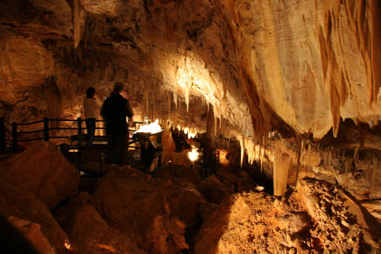 Inside the Ngilgi Cave