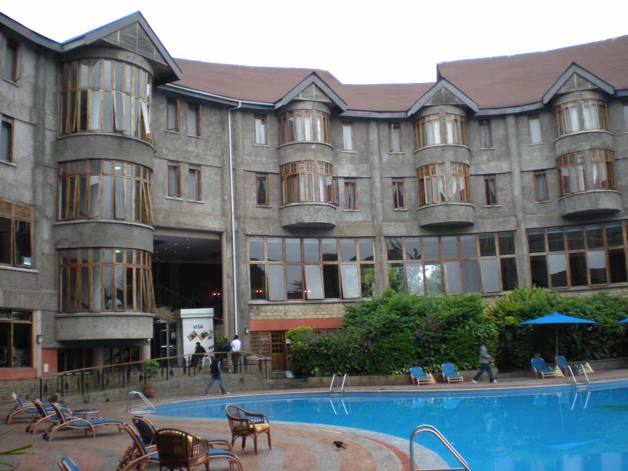 The Ngurdoto Lodge in Arusha
