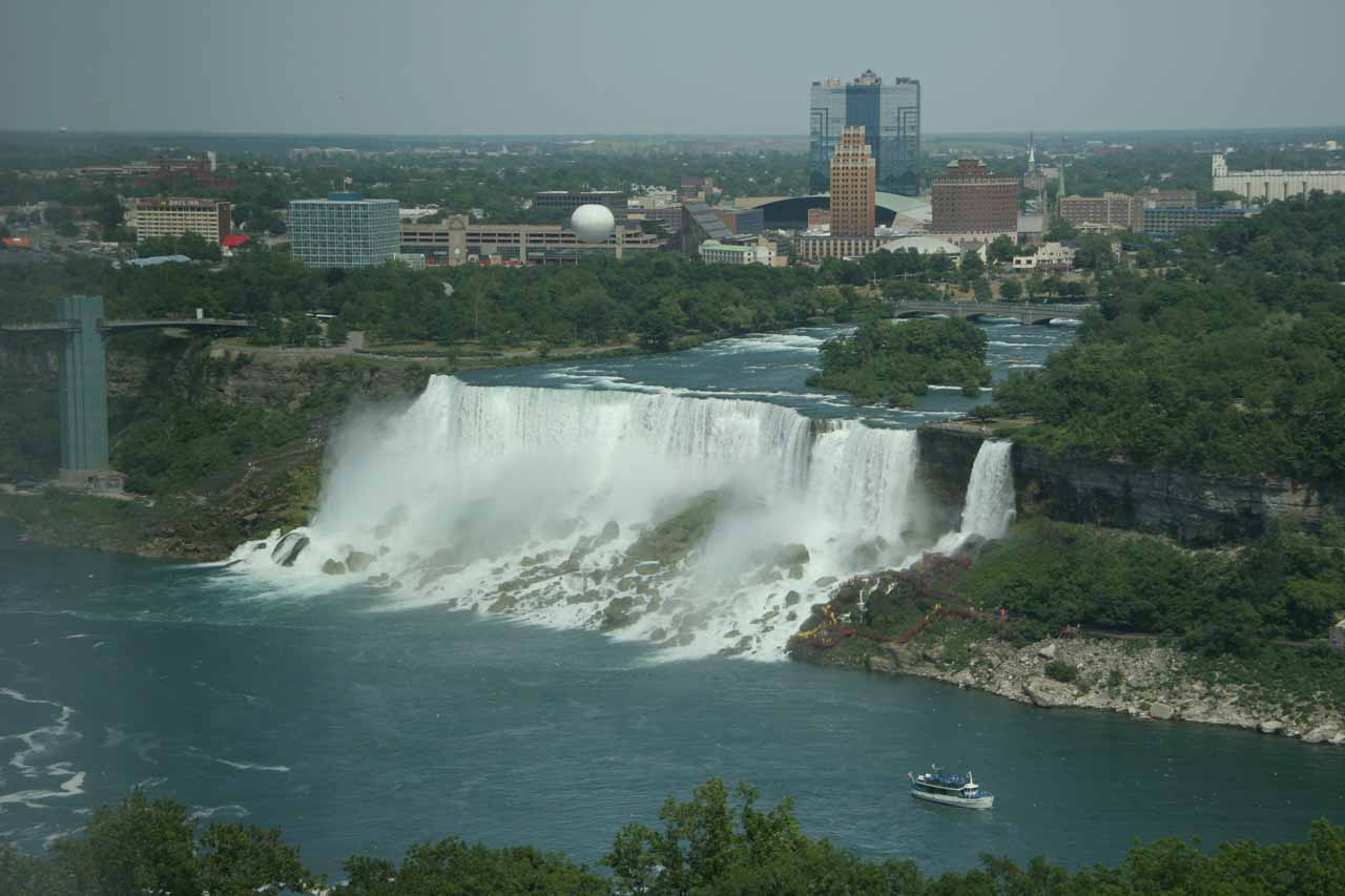 niagara falls big and beautiful singles Niagara falls are probably the most famous waterfalls in the world niagara falls are actually three waterfalls which sit right on the border between the uni.