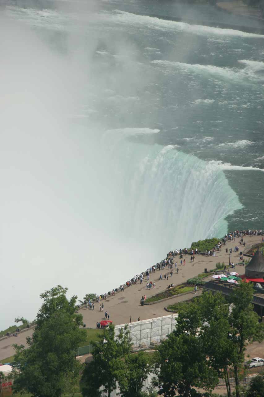 Another look at the brink of Horseshoe Falls
